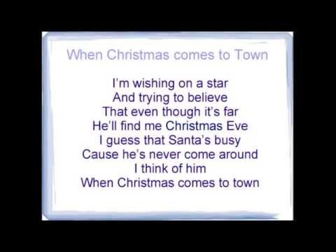 when christmas comes to town karaoke - When Christmas Comes To Town