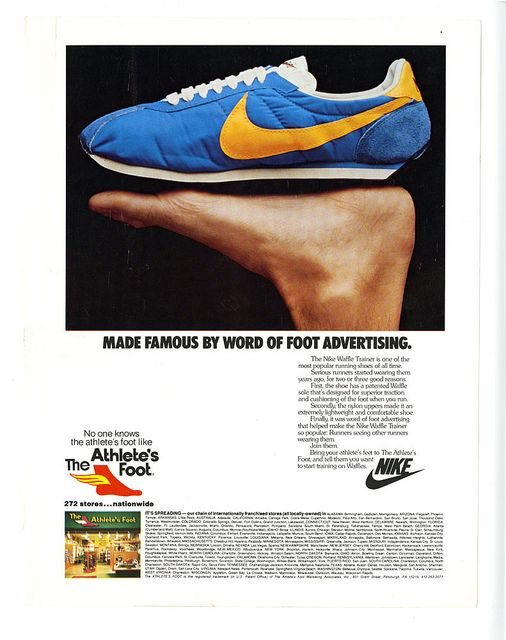 Nike Word of Foot Advertisement | Sergio tacchini, Design d