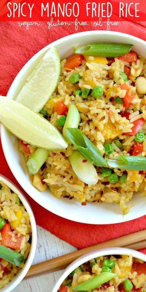Spicy mango fried rice is easy to make with leftover rice and a few spicy mango fried rice is easy to make with leftover rice and a few simple ingredients ccuart Image collections