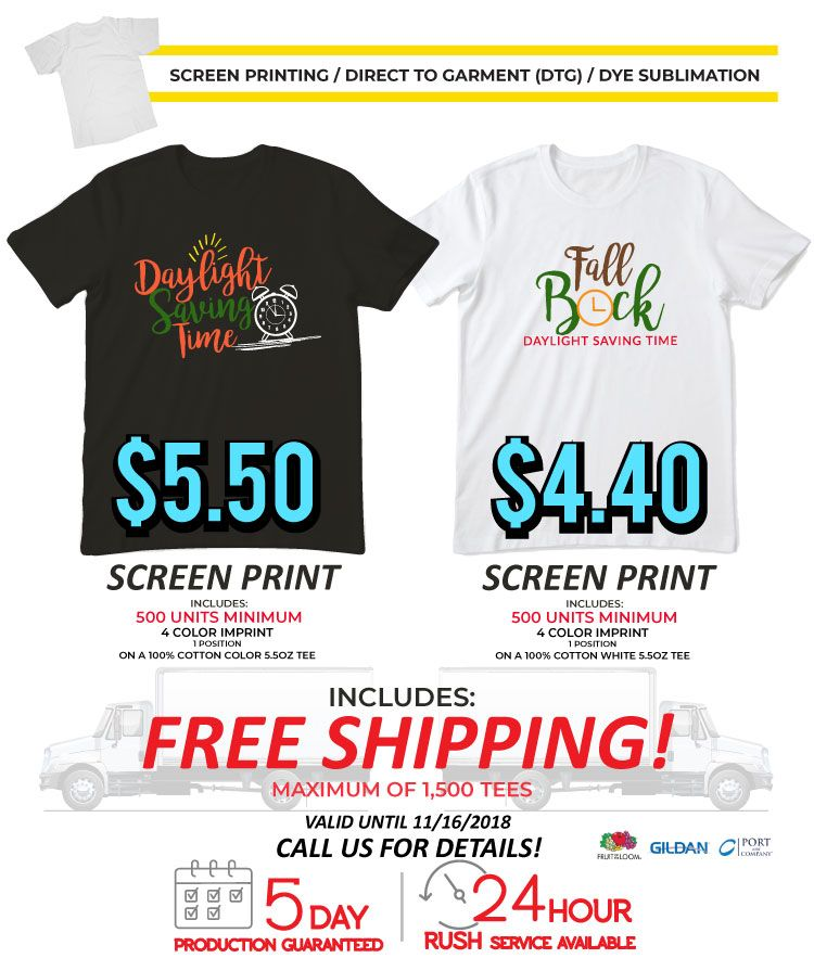Screen Printing Services from Tee for 2 | Promotional Product Flyers