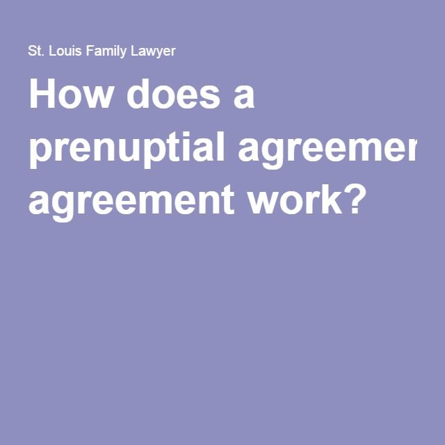 How does a prenuptial agreement work? Prenup Agreements Pinterest - prenuptial agreement form