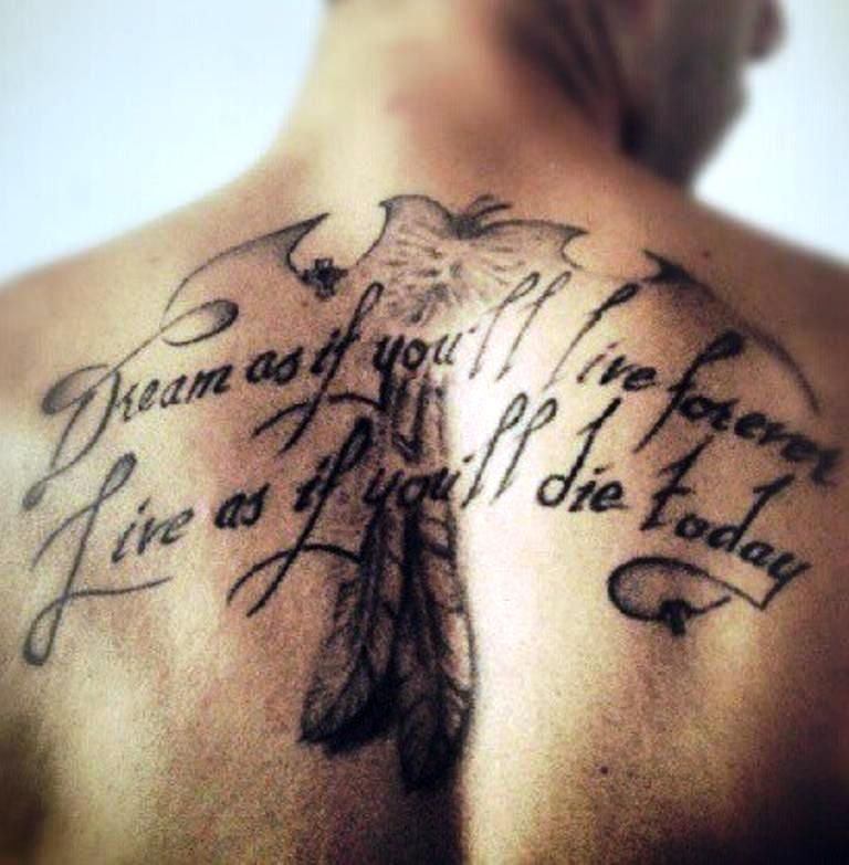 Tattoo Quotes For Men On Back Tattoo Quotes For Men Family