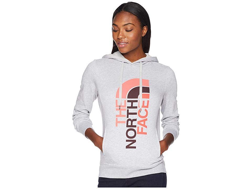 5d6cd38c0 The North Face Trivert Pullover Hoodie (TNF Light Grey Heather/Fig ...