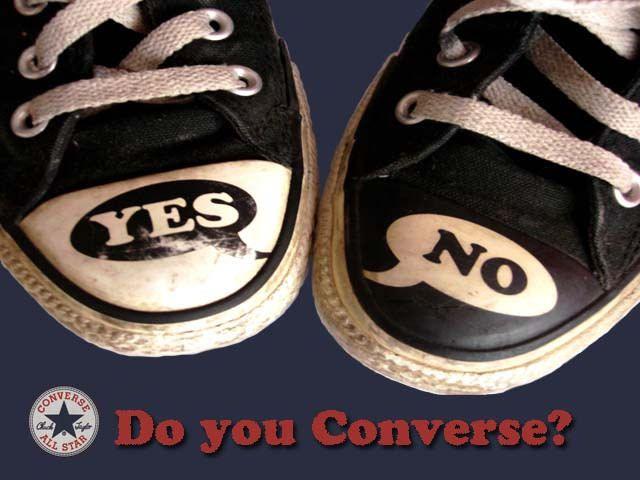 Converse ad design by DesignRae