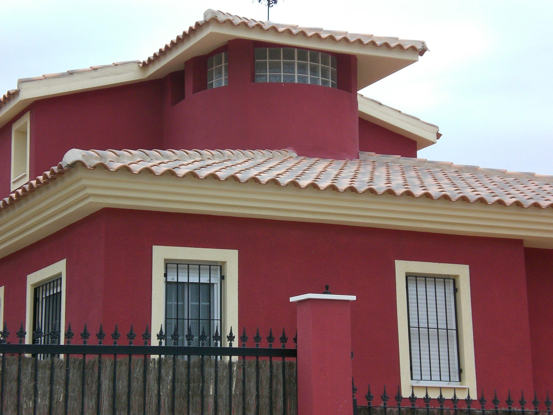 Pinturas de exteriores de gran calidad para renovar y for Ceramica para fachadas exteriores