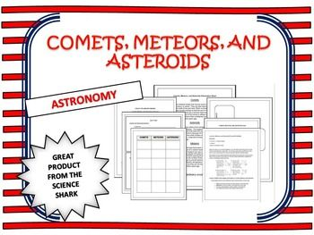 Comets, Meteors, and Asteroids - A Comparison | Multiple ...