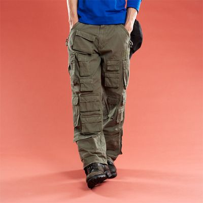 cargo pants with many pockets - Pi Pants