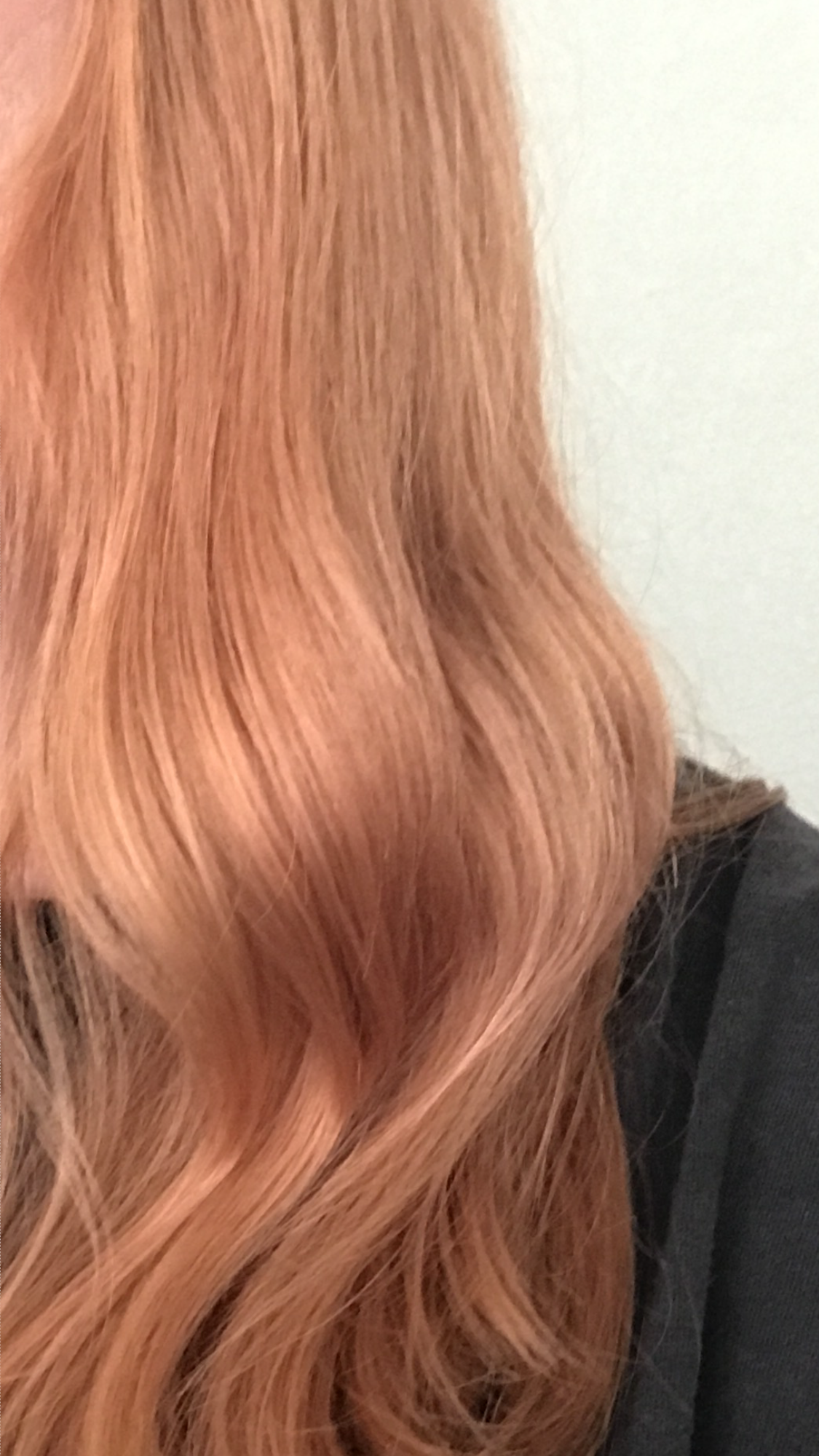 Wella Ecaille By Couture Color Tortoiseshell Hair Rose Gold