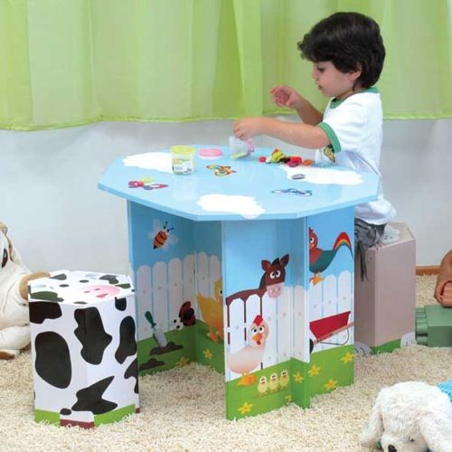 Cardboard For Kids Kids Table Set Kids Table And Chairs Cool Tables