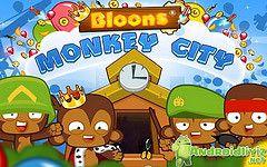 Bloons Monkey City V1 5 0 Mod Hileli Apk Indir Http Ift Tt 1gehbpt City Hacks Game App Free Games