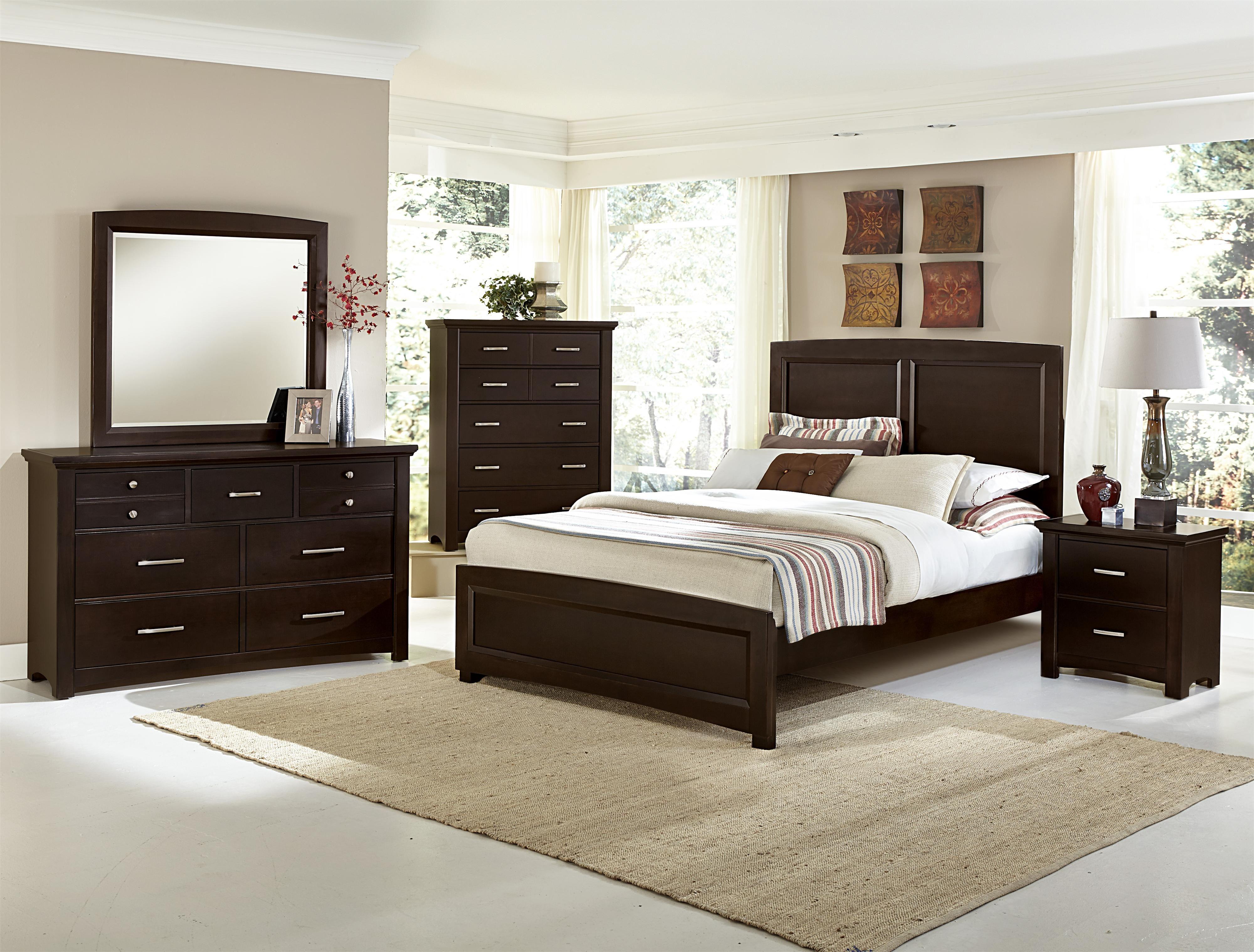 Best Transitions Queen Bedroom Group By Vaughan Bassett 640 x 480