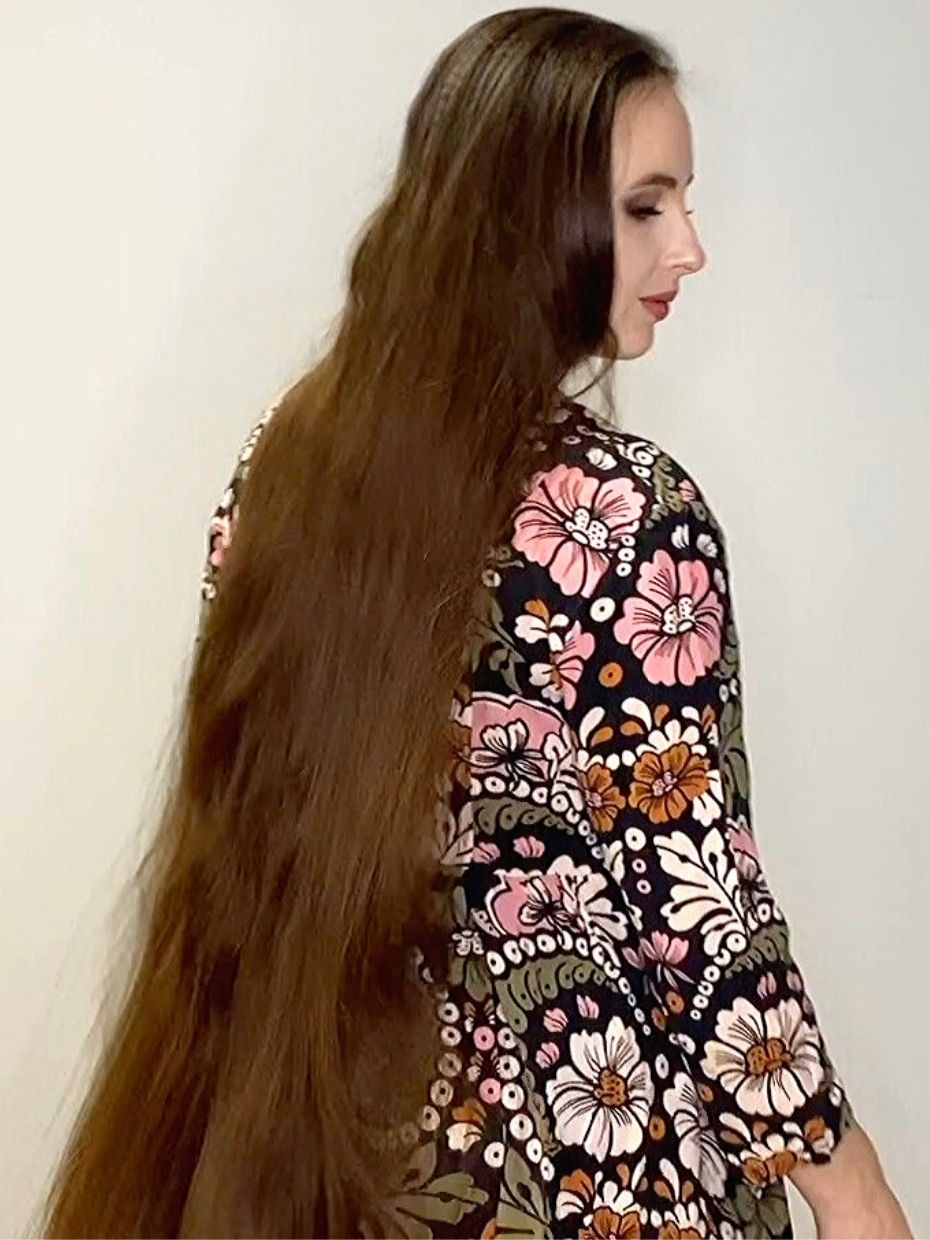 Video Special Dress Special Hair In 2020 Long Hair Styles Long Hair Girl Thick Hair Styles