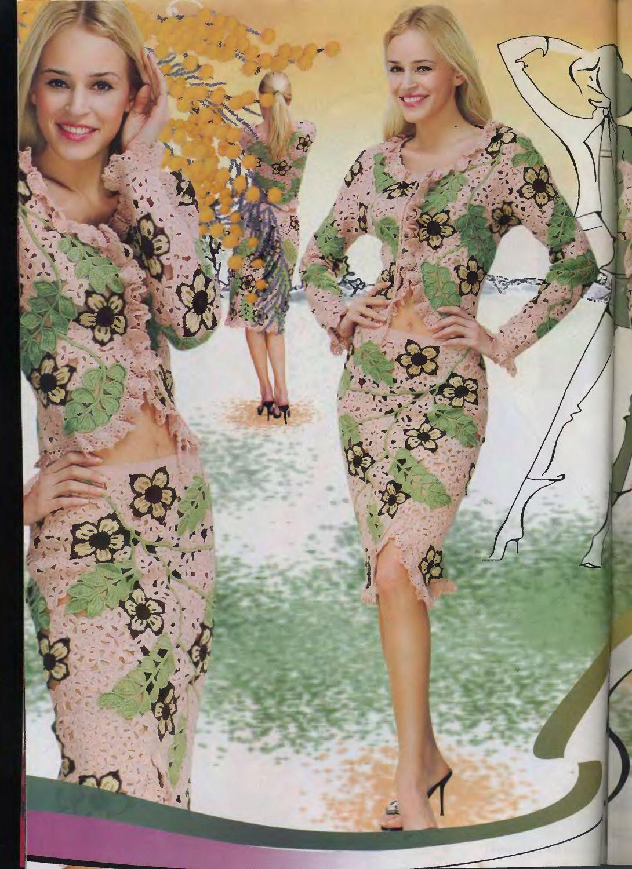 Pin von sorina singer auf Irish crochet | Pinterest | Kleid tops ...