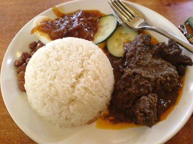 Nasi Lemak And Rendang The 1st Delicious Food On This World From Indonesia