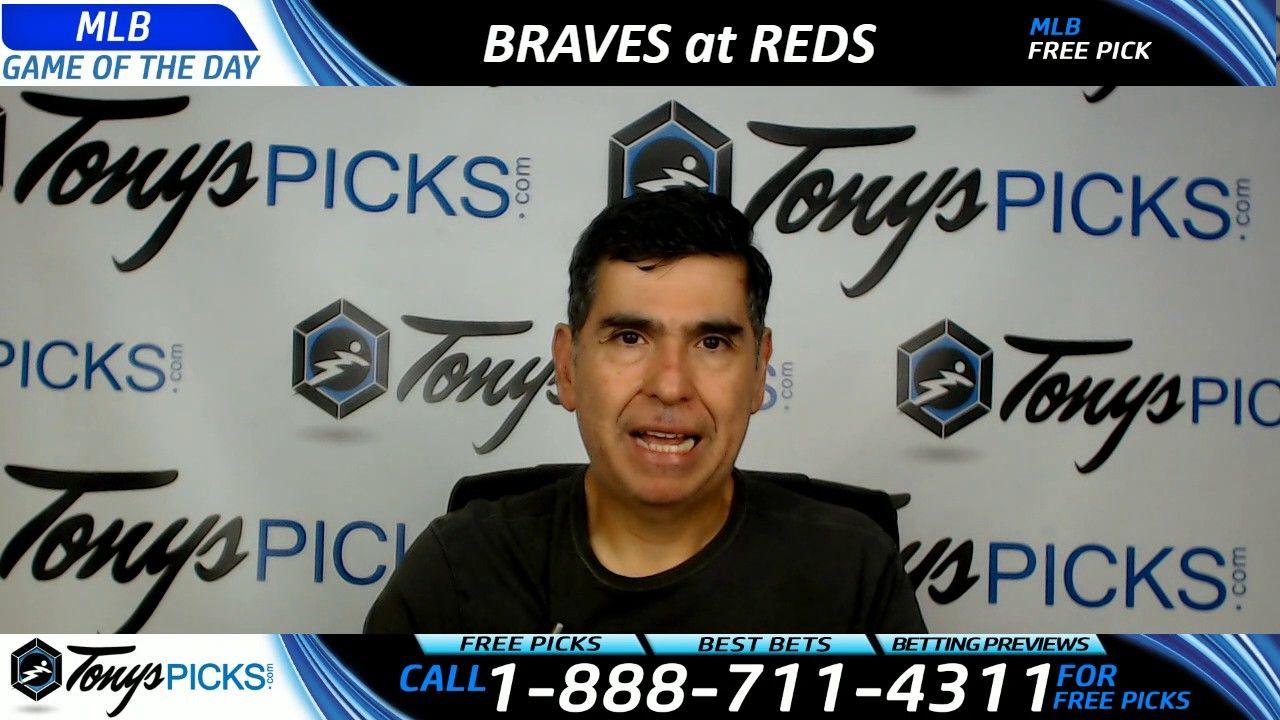 Atlanta Braves Vs Cincinnati Reds Free Mlb Baseball Picks And Predictio Baseball Picks Nfl Football Picks Mlb Baseball