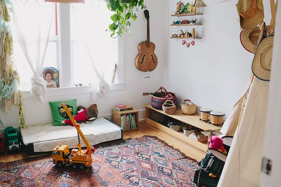 cool kids rooms: henry's californian montessori bedroom (from moon