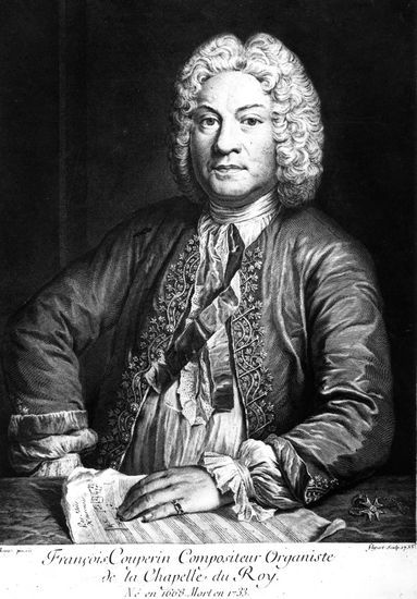 Francois Couperin 1668 1733 Etching 1735 By Jean Jacques Flipart 1719 1782 Classical Music Classical Music Composers Organ Music