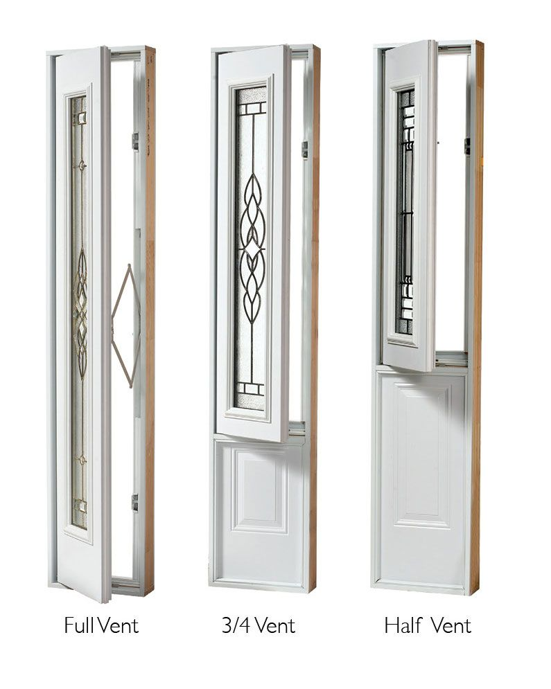 Want To Add More Light And Ventilation Your Entry Door