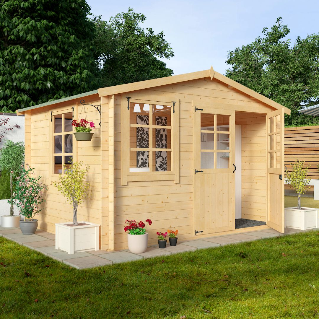 BillyOh 3.0 x 2.5m Clubman Log Cabin | I Love My Shed | Pinterest
