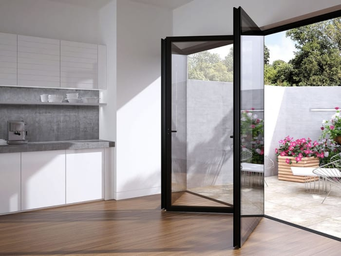 12 Stupendous Folding Sliding Glass Doors For Patio Perfection Furniture Fashion In 2020 Folding Glass Patio Doors Glass Doors Patio Accordion Glass Doors