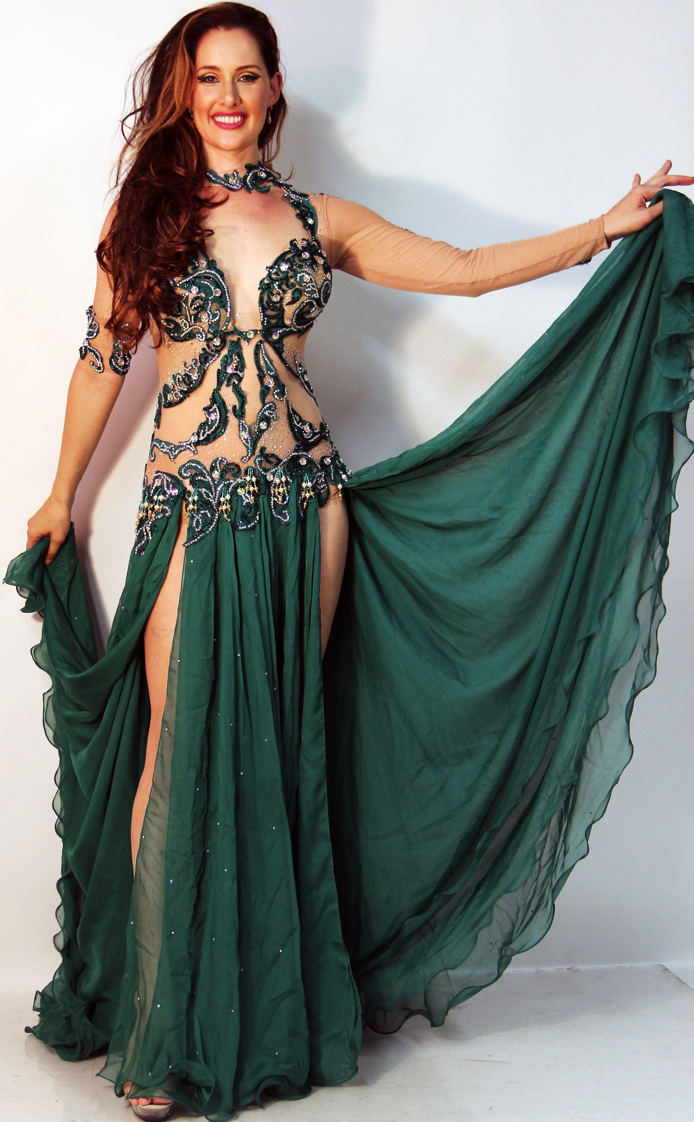 80ea020cee892 Eman Zaki One-Piece Costume 23756 | Cab/Egyptian Bellydance | Belly ...