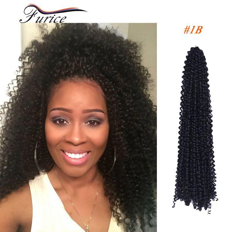 Aliexpress Buy Black Braiding Hair 18inch Freetress Water Wave