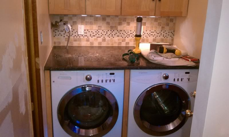 How To Hide Hoses And Wires Washer Dryer Under Counter Washing