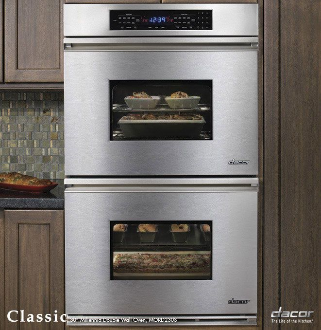 dacor double oven for kitchen electric wall oven double on wall ovens id=23184