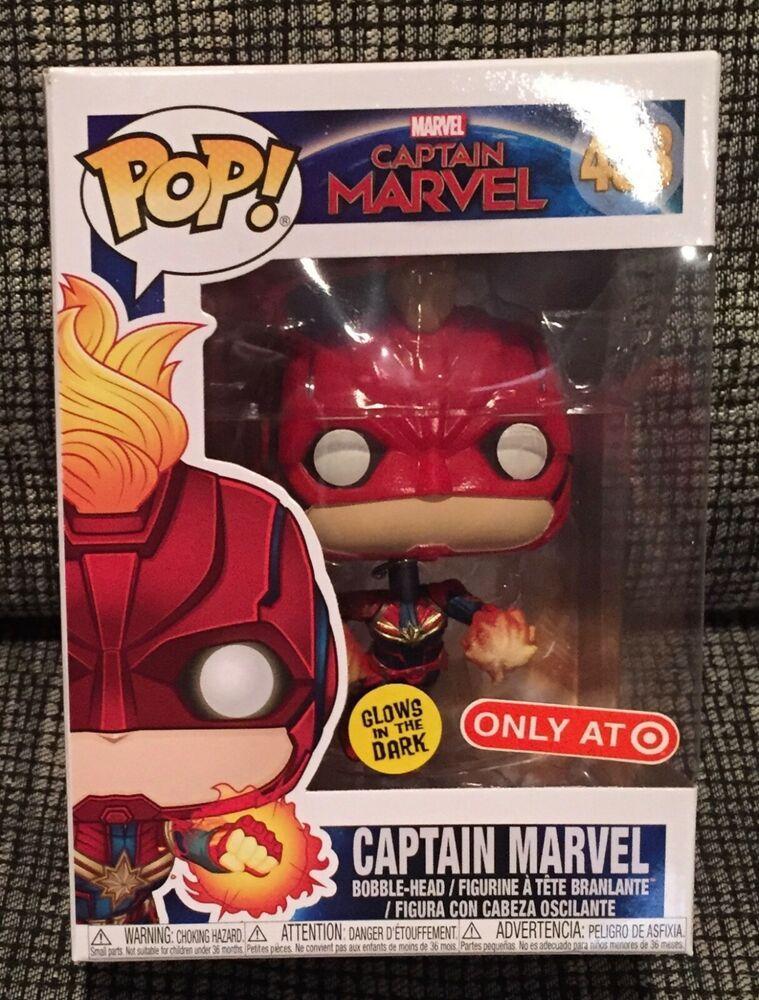 Captain Marvel Target Exclusive #433 NEW Funko Pop