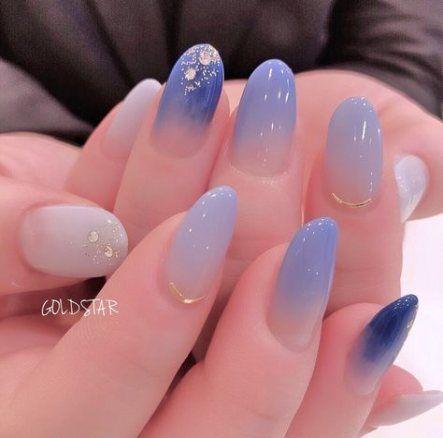 Nails art gel korean 64+ ideas #koreannailart