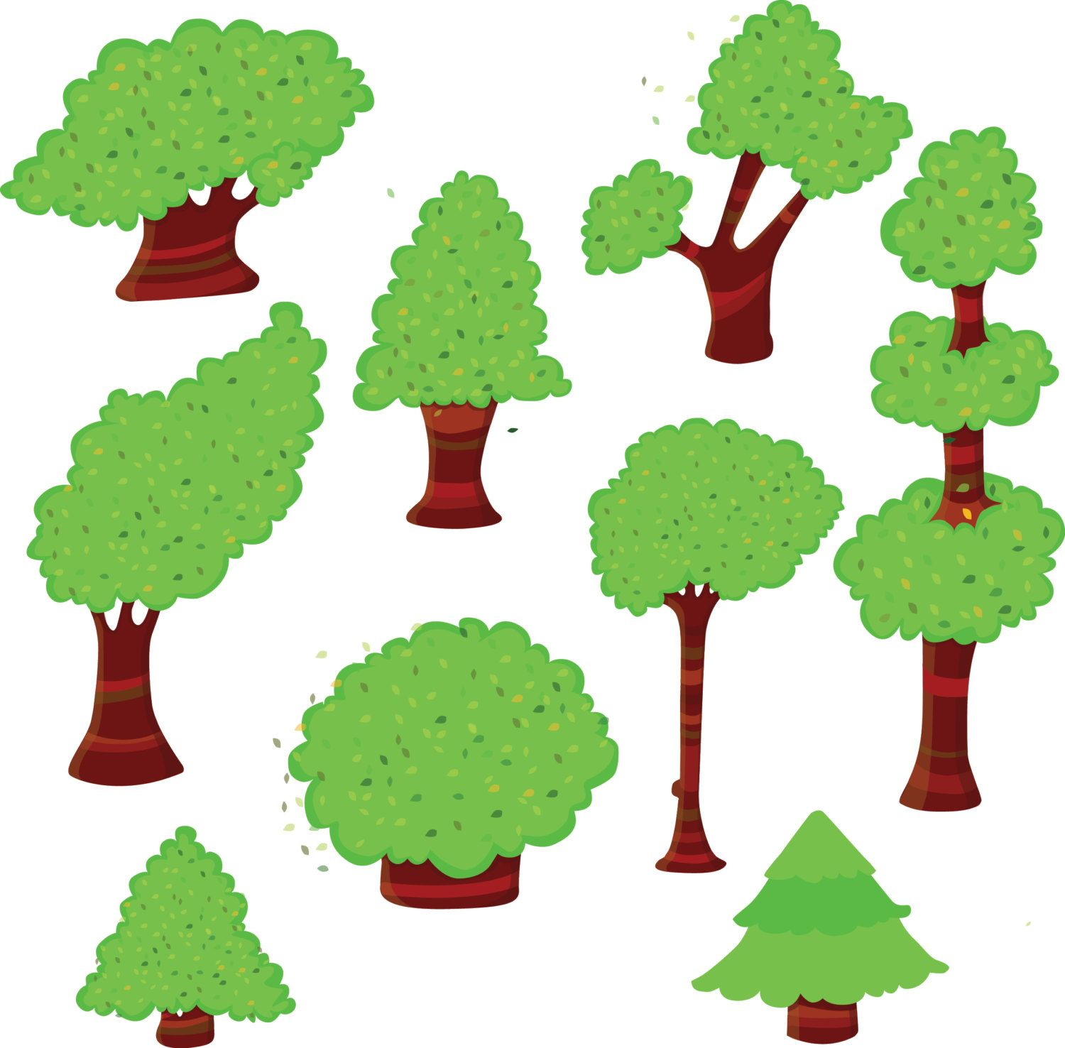 trees clipart green trees clipart tree clipart woodland clip art rh pinterest co uk clipart for store clip art forest animals
