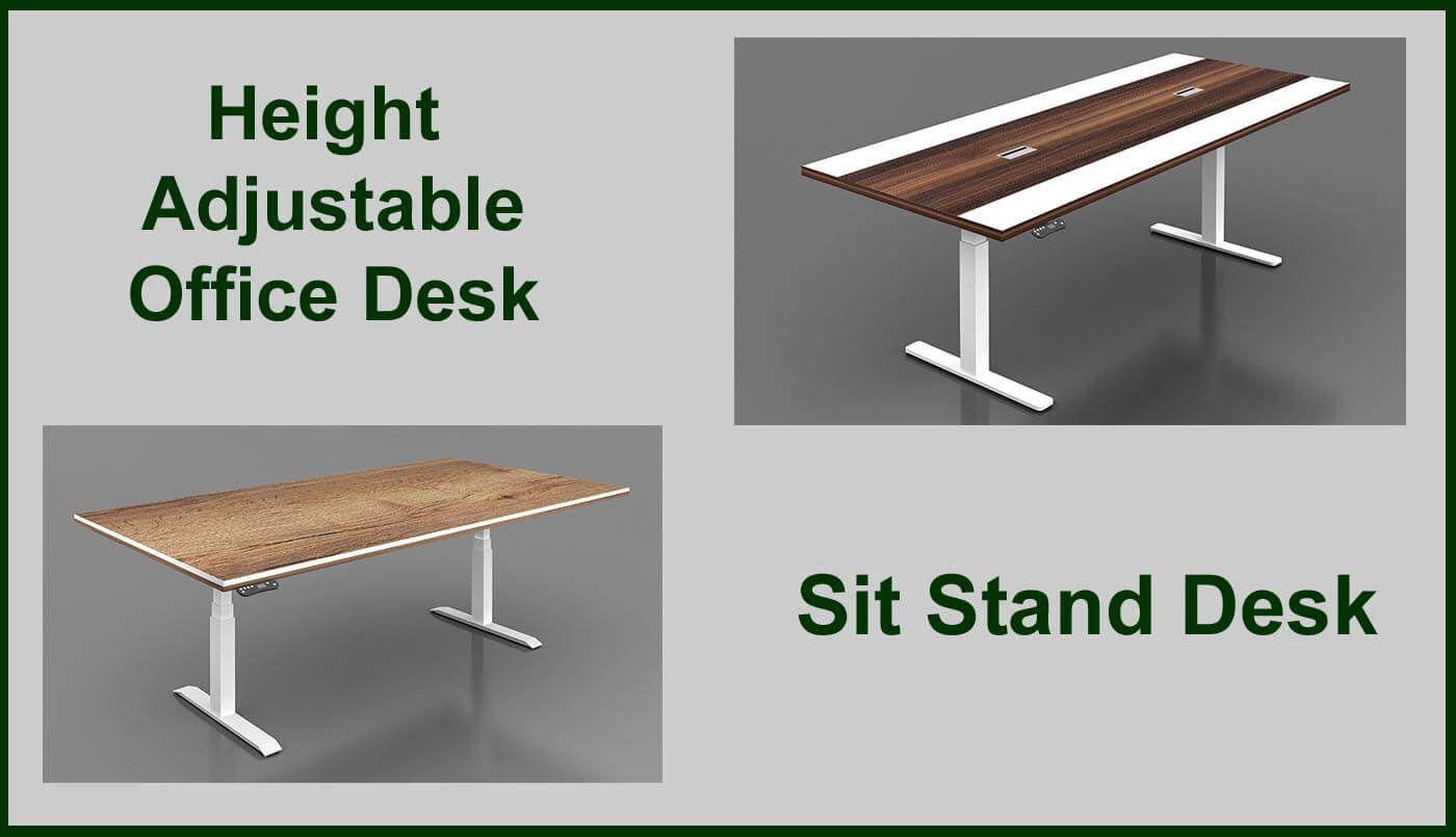 Sit Stand Desks Dubai Online Sit Stand Desks Dubai Uae In 2020 Adjustable Height Desk Adjustable Desk Height Adjustable Office Desk