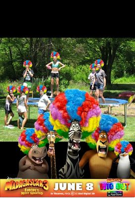 Phinger Food Madagascar 3 Circus Circles Most Wanted Party Birthday