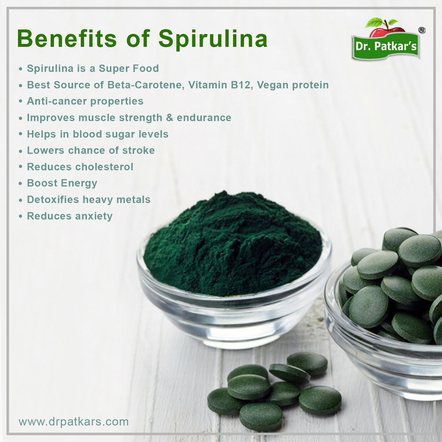 Spirulina The SUPERFOOD that boosts your strength