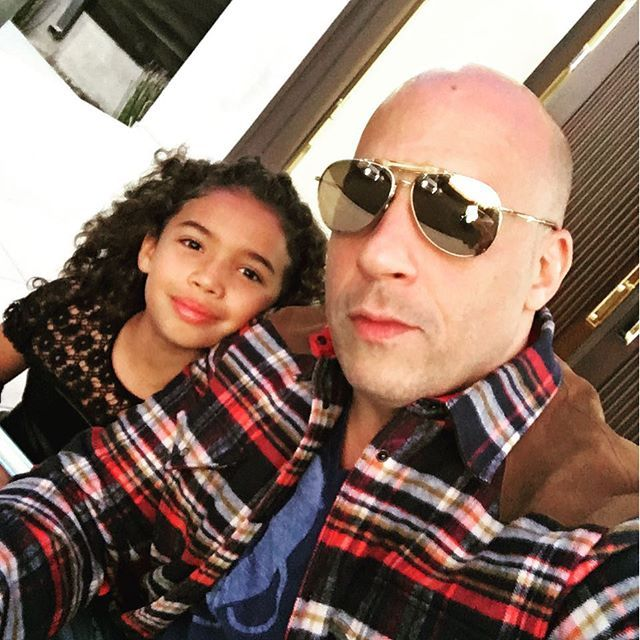 Vin Diesel Taking The Little Ones To Their First Concert To See Beyoncé Formation World Tour Dodger Stadium Los Angeles California 14th September 2016