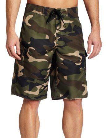 07c795aa4c Quiksilver Men`s Manic Camo Boardshort $34.00 - $44.00. Camo board shorts  ...