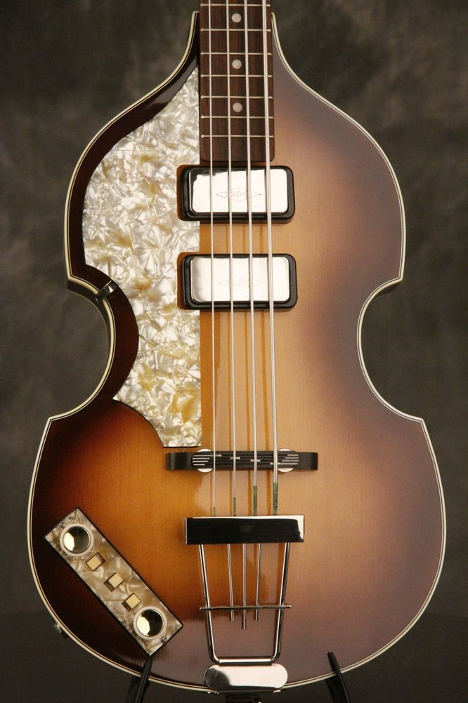 1990 S Hofner 500 1 V61 Cavern Early Reissue Beatle Bass Rare Left Handed