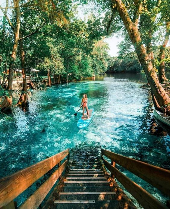 Good Places To Travel To In Florida: I Really Want To Visit Ginnie Springs, Florida! I Keep