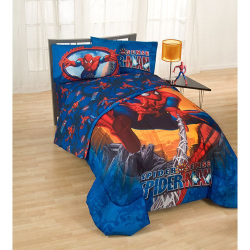 Spiderman Sheets From Walmart Microfiber Twin And Full
