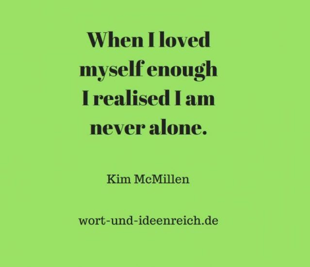 Kim Mcmillen Als Ich Mich Selbst Zu Lieben Begann