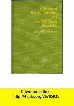 Calculus of several variables and differentiable manifolds