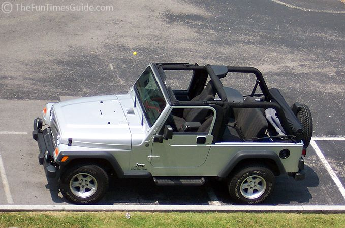 Video: How To Take Off U0026 Put On A Jeep Soft Top | The Fun Times Guide To  Jeeping