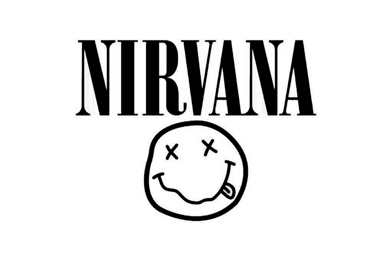 Top 10 Band Music Logos For Graphic Design Inspiration Nirvana Wallpaper Nirvana Logo Wallpaper Nirvana Lyrics