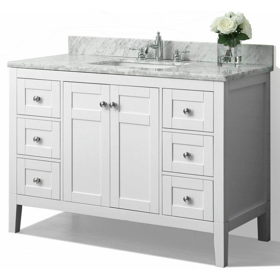 shop ancerre designs maili white undermount single sink