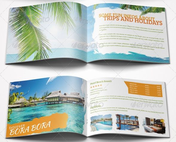 Perfect For A Wide Range Of Leisure And Travel Businesses Like - Fun brochure templates