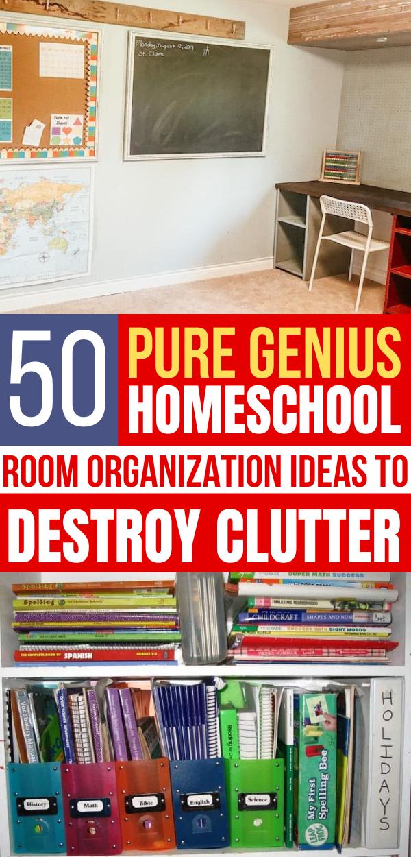 50 Homeschool Room Organization Ideas Homeschool Room Organization Homeschool Organization Room Organization