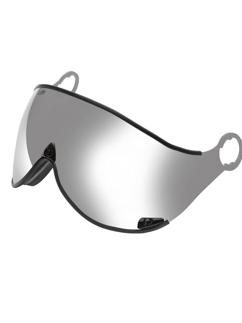 Cp replacement ski helmet visors grey silver mirror ski for Mirror visor
