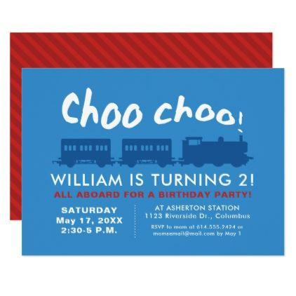 Train birthday party invitation stopboris Image collections