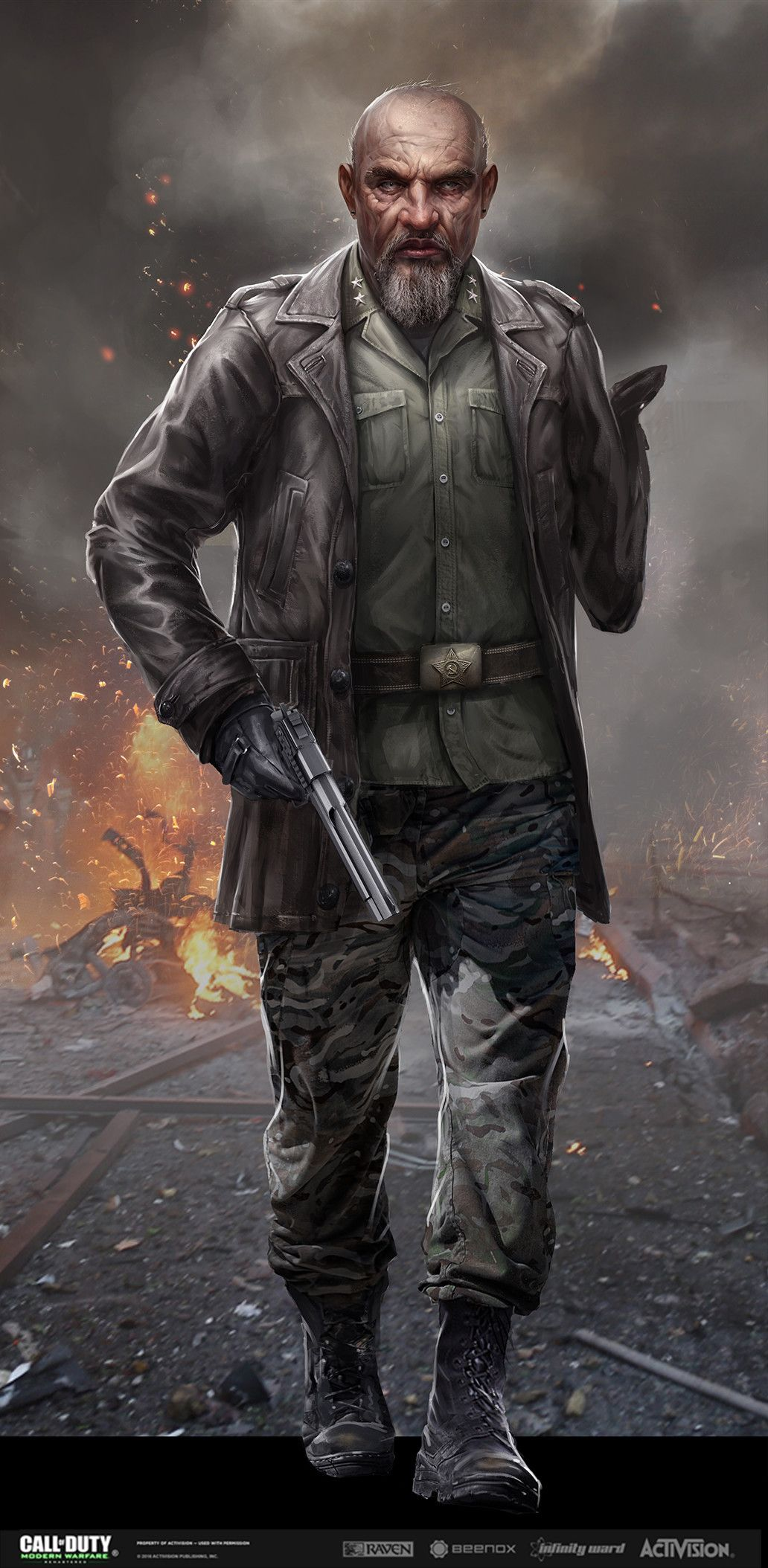 Call Of Duty Modern Warfare Remastered Art