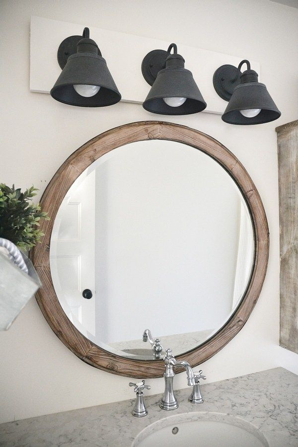Farmhouse Bathroom Light Fixtures Simple Diy Farmhouse Bathroom Vanity Light Fixture  Vanity Light Fixtures Review